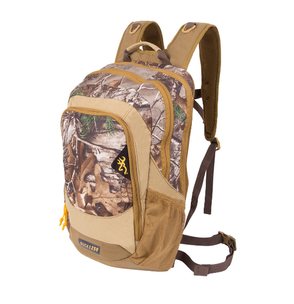 Browning buck1250 trail cam day pack fett 39 s gear for Browning fishing backpack