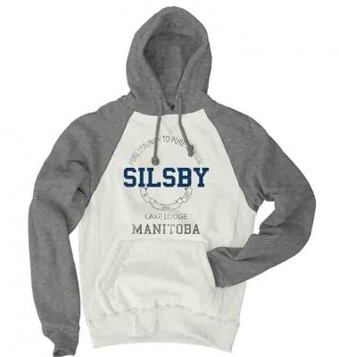 Hooded Sweatshirt - Silsby Lake Lodge - Blue