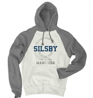 Hooded Sweatshirt - Silsby Lake Lodge - Blue